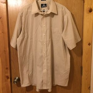 $4 SALE!  Stafford Men's Short Sleeve Dress Shirt